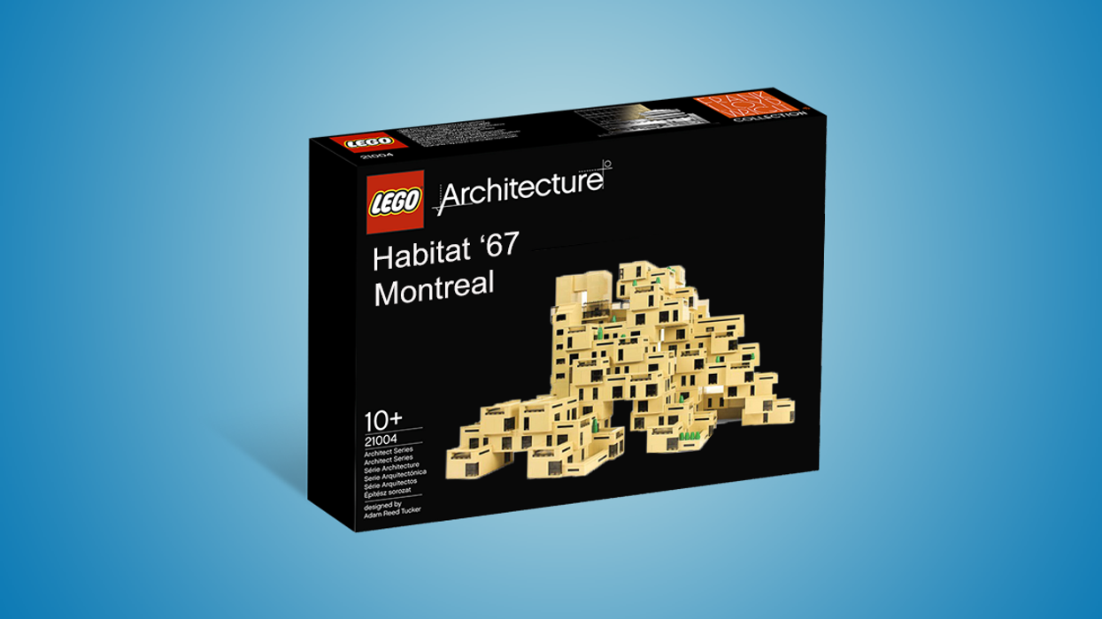 """LEGO Plans To Release Limited Edition Montreal """"Habitat '67"""" Building Set"""
