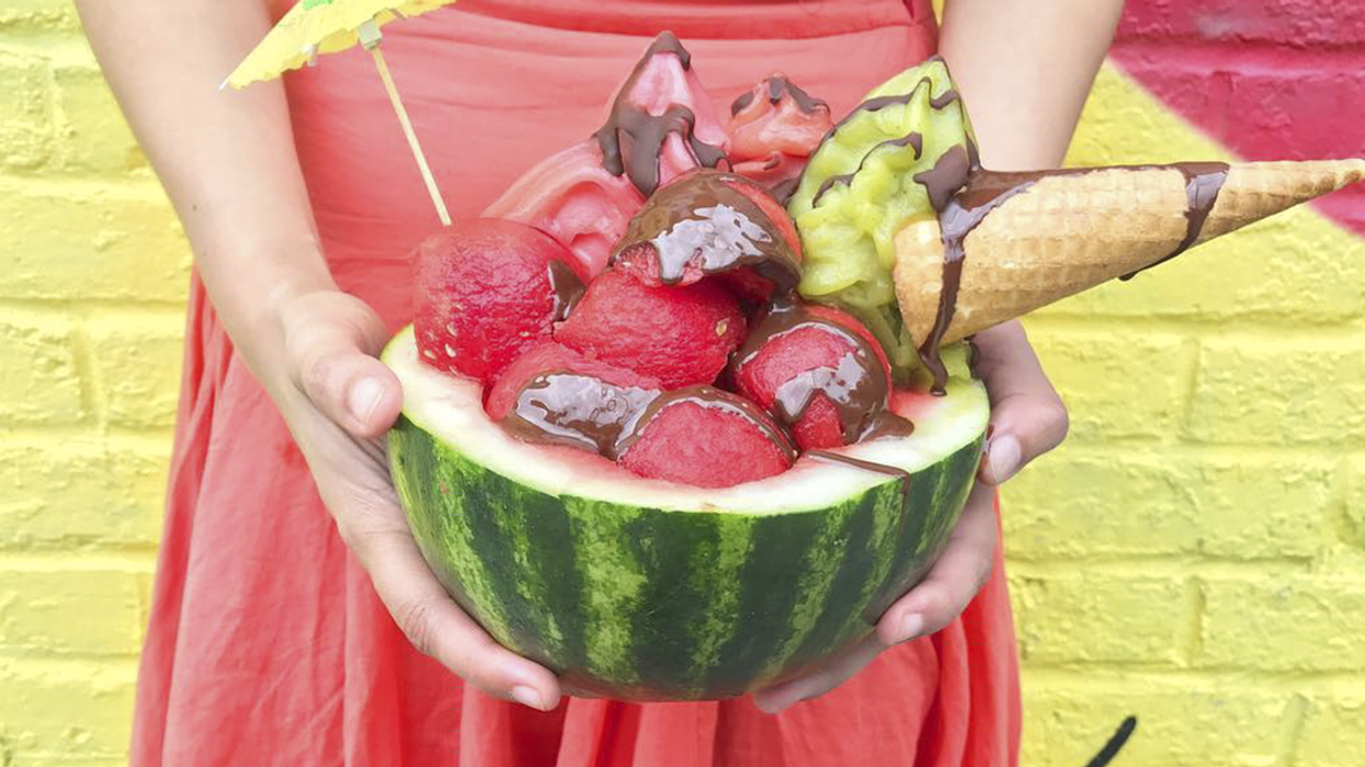 """You Can Now Get """"Watermelon Bowl"""" Ice Cream In Montreal"""