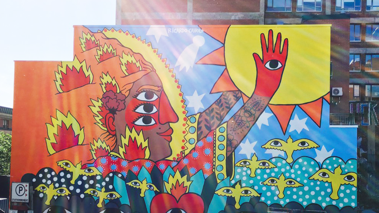 Montreal's 20 All-New Epic Murals You Must See ASAP