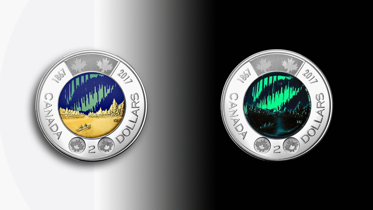 """Canada Releasing All-New """"Glow-In-The-Dark Toonie"""" For The Country's 150th Birthday"""