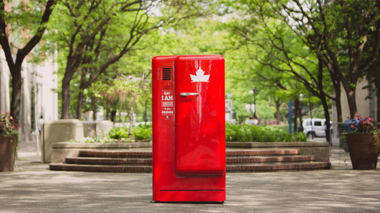 Molson Is Giving Out Free Red Beer Fridges To Canadians This Summer
