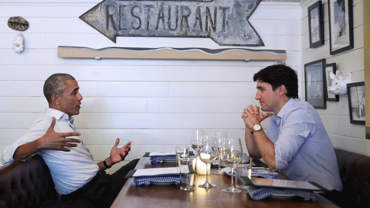 Here's Everything Barack Obama And Justin Trudeau Ate At Montreal's Liverpool House
