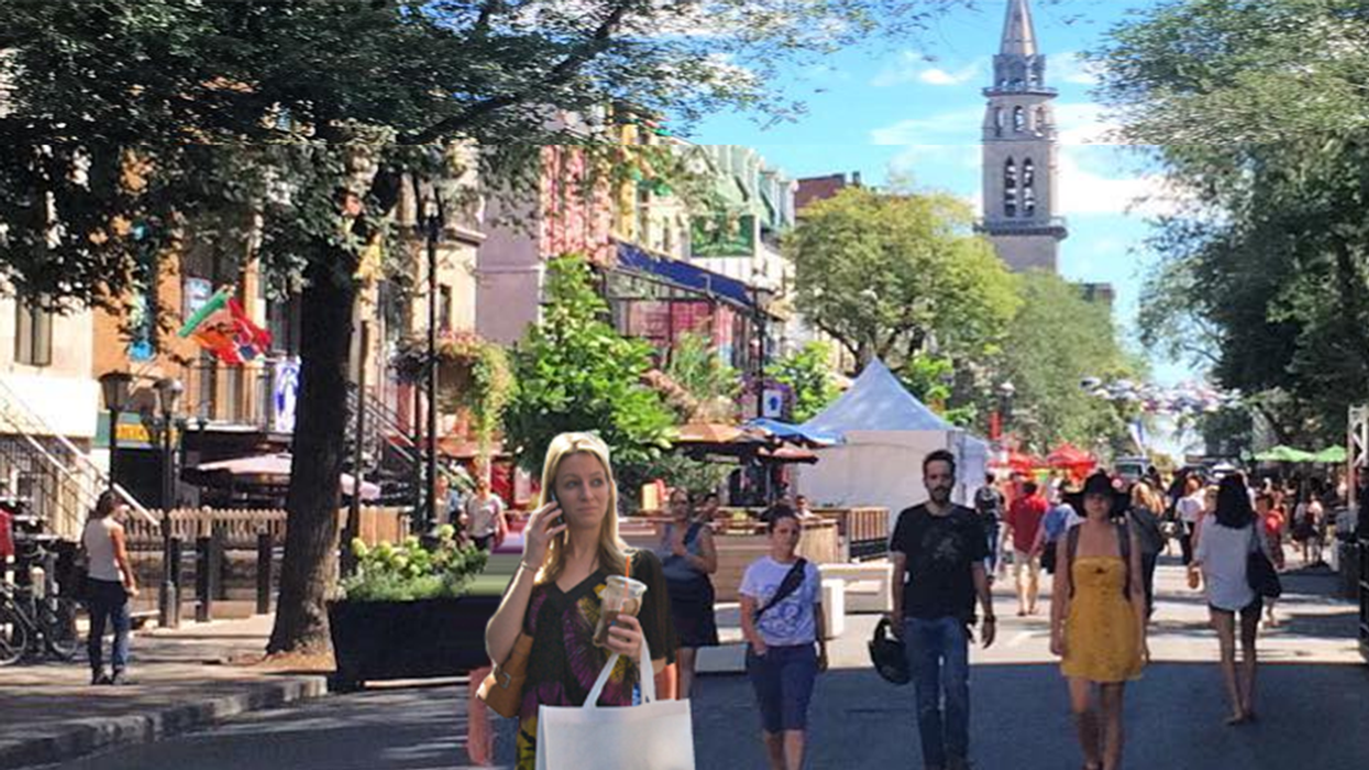 Montreal's Saint-Denis Street Will Be Completely Transformed This Year