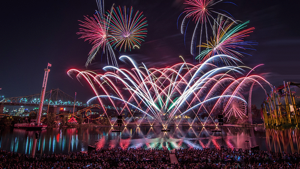 It's Official, Montreal's Summer Firework Festival Schedule Is Out