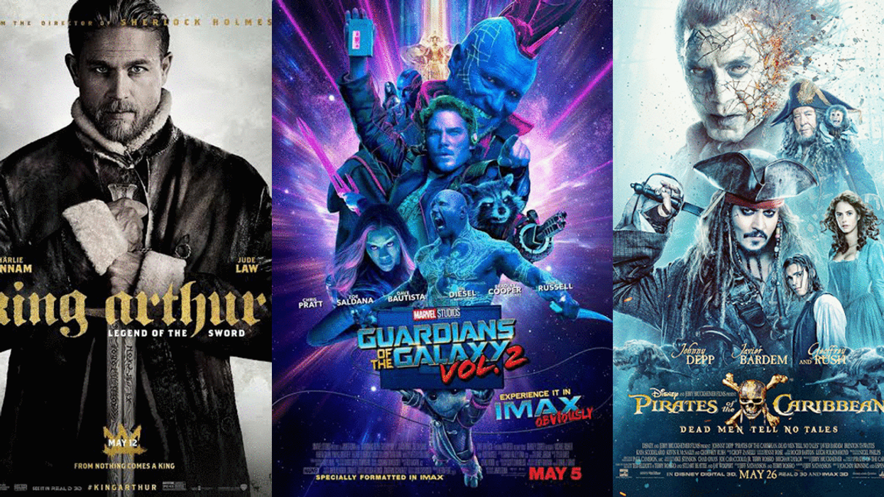 All The New Hollywood Movies Coming Out In Theaters This May 2017
