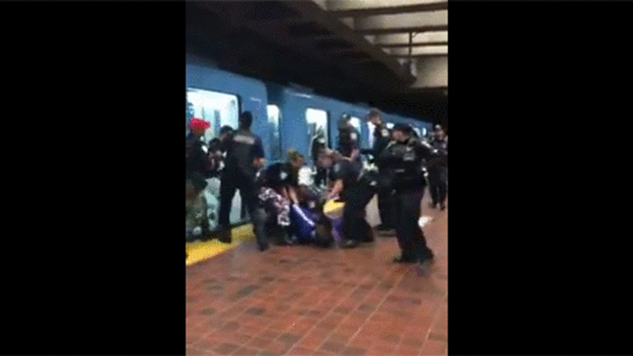 Video Showing Montreal Police Brutally Arresting Teenagers At Viau Metro Station