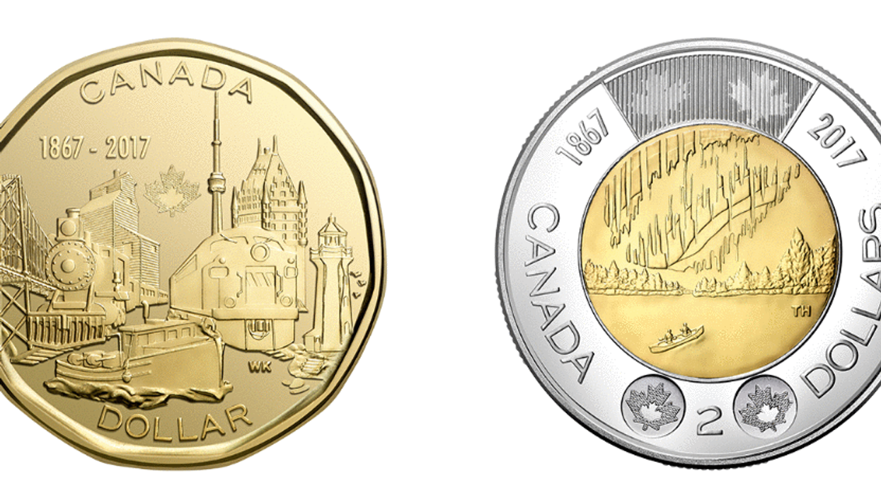 Canada's All-New Loonie And Toonie
