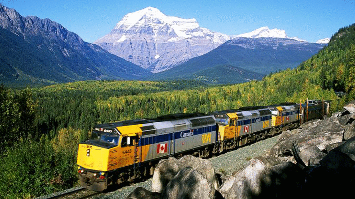 9 Incredible Canada Trips You Can Take By Train Under $100