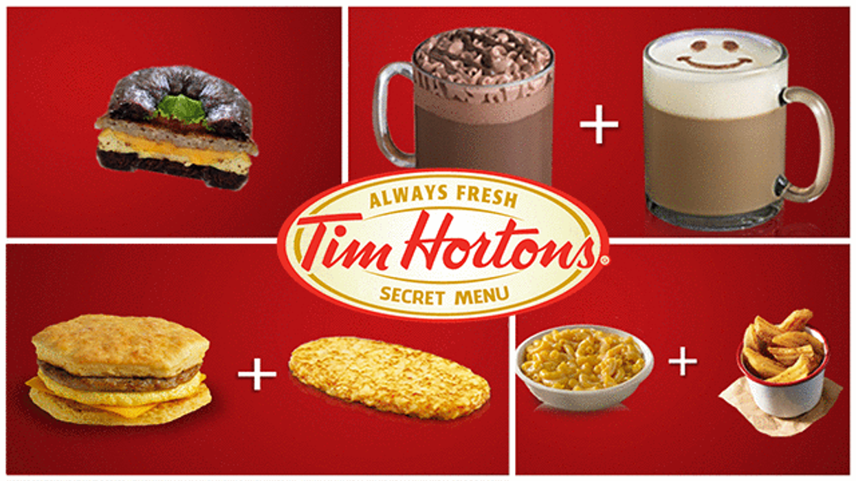 """11 Tim Hortons """"Menu Hacks"""" You Can Get Now In Canada"""