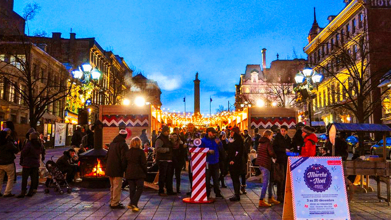 11 Christmas Markets And Events To Hit Up In Montreal This Holiday Season