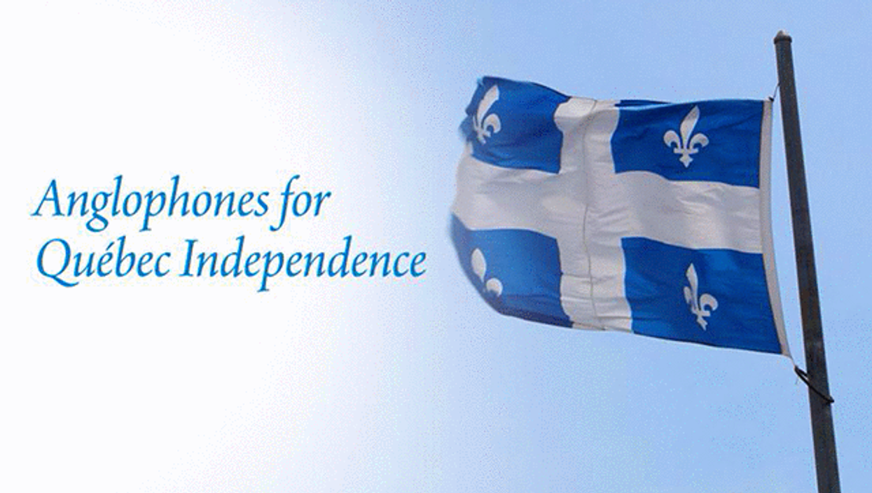 """Quebec Now Has A """"Anglophones For Quebec Independence"""" Political Party"""