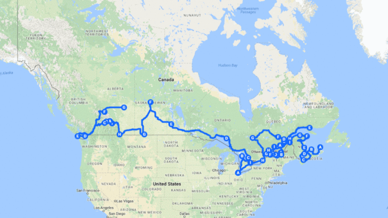 Here Is The Most Efficient Way To See All 38 National Parks In Canada