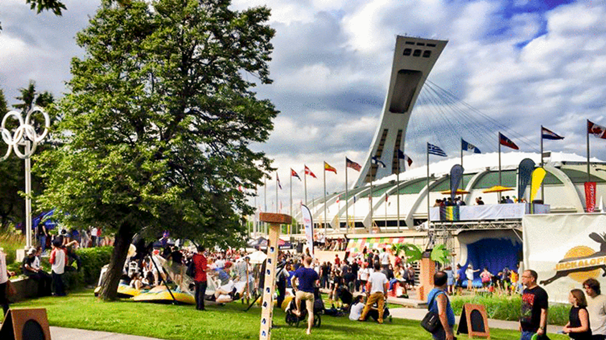 """Montreal Is Hosting Canada's Largest """"Extreme Sports"""" Festival At The Olympic Stadium"""