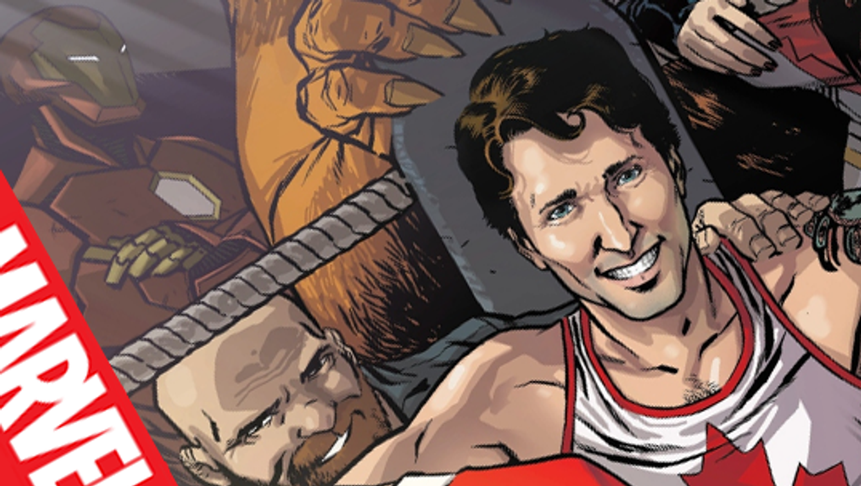 Justin Trudeau Will Be First-Ever Canadian PM On The Cover Of A Comic Book