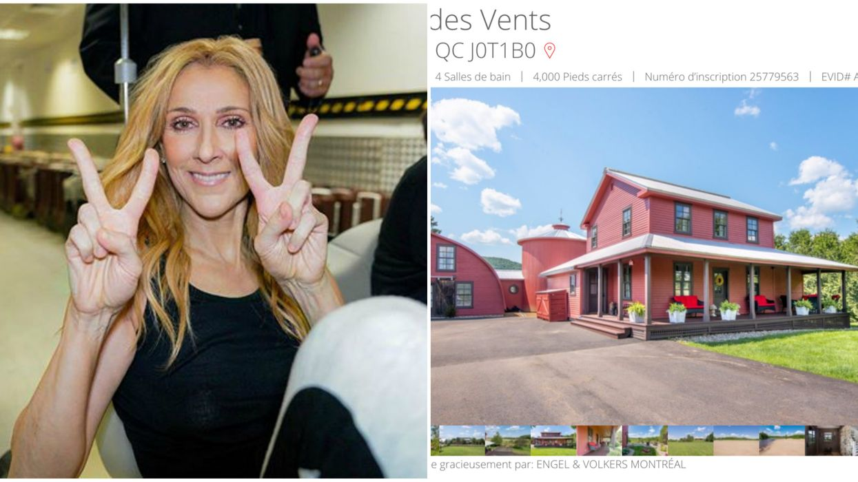 It Looks Like Céline Dion Is Vacationing At A Stunning $2.4-Million Quebec Farm (PHOTOS)