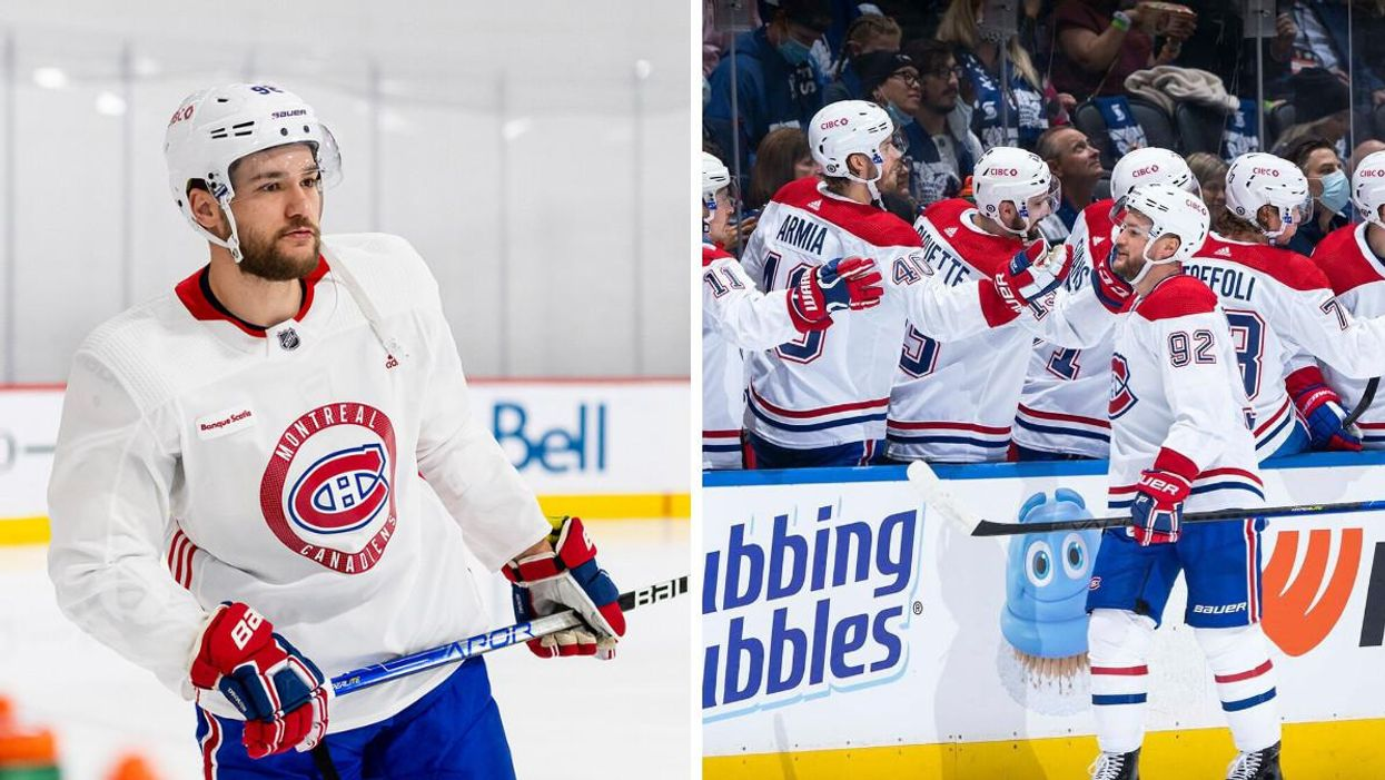 Jonathan Drouin Scored The First Habs Goal This Season & Everyone Was So Happy For Him