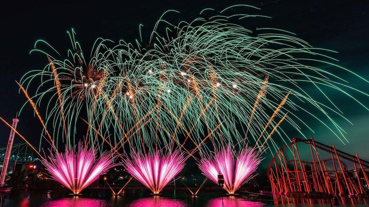 La Ronde Is Hosting A Huge Fireworks Show This Summer