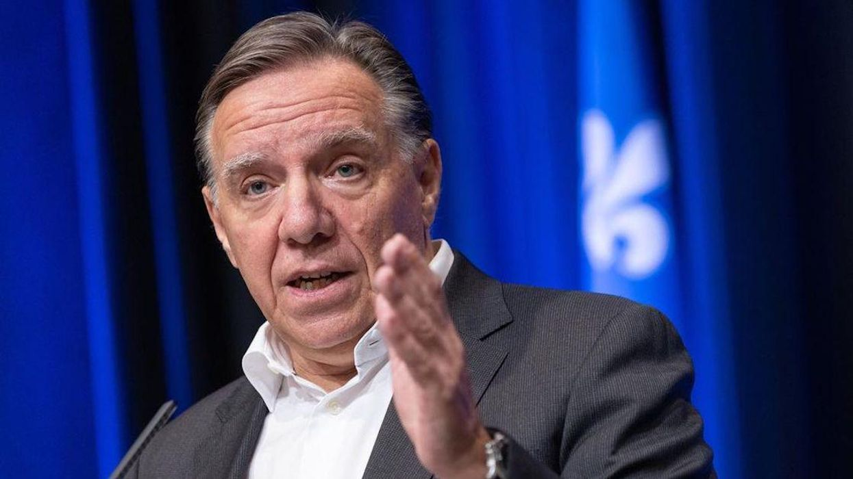 Legault Reacted To The Liberal Win & Says He'll Work With Trudeau On Quebec's Interests