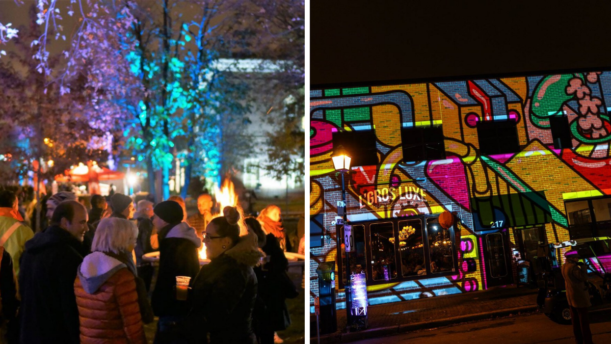 Lumifest Is Coming Back To Old Longueuil With Giant Light Shows, DJ Parties & Street Food