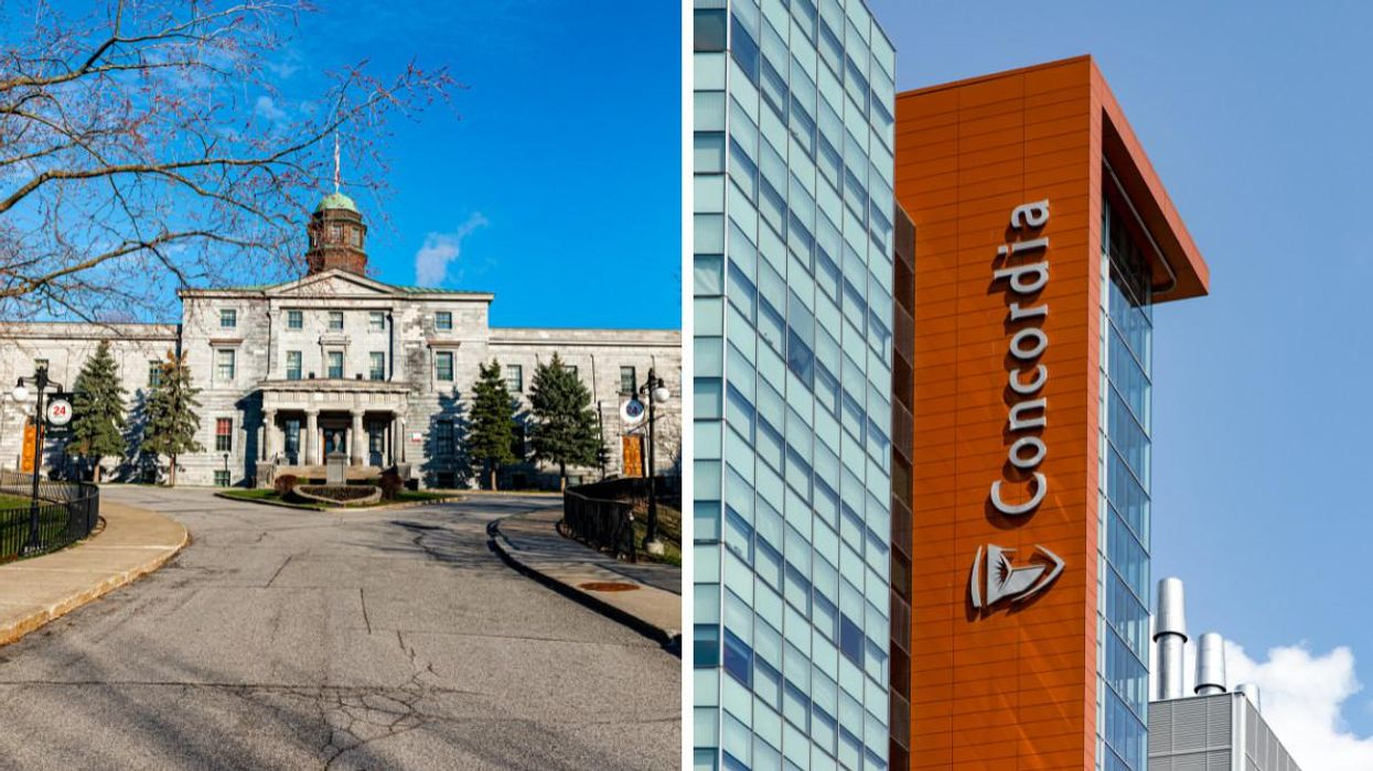 Maclean's Ranked Universities In Canada By Reputation — McGill Is 4th & Concordia Is 16th