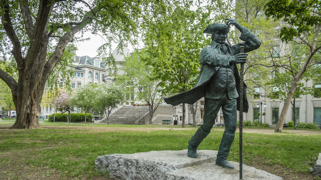 McGill's Statue Of Slave-Owner James McGill Is Getting A Plaque To Explain His History