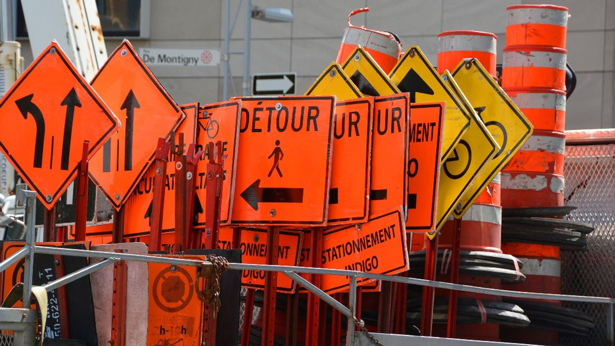 Montreal Construction Sites Could Finally Get Less Confusing