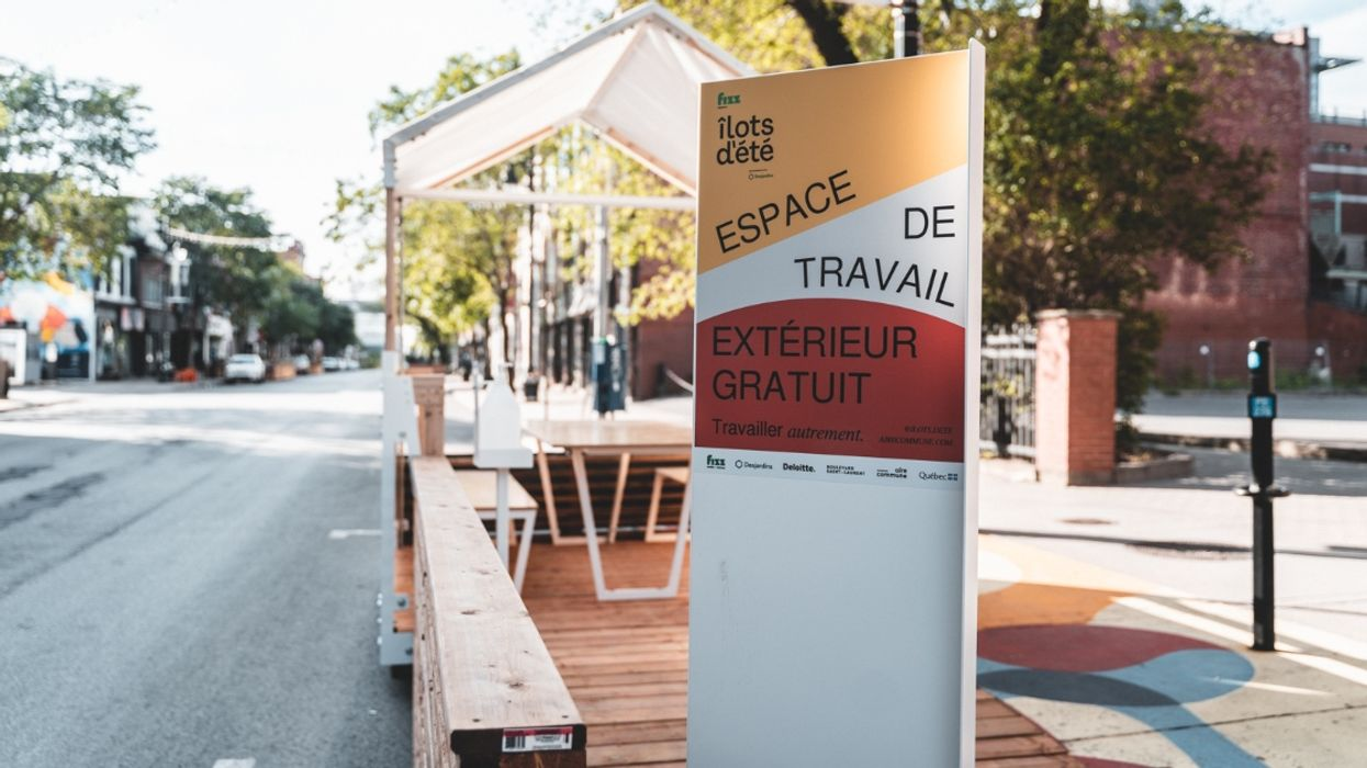 Montreal Has 23 Brand-New Outdoor Workspaces With Free WiFi