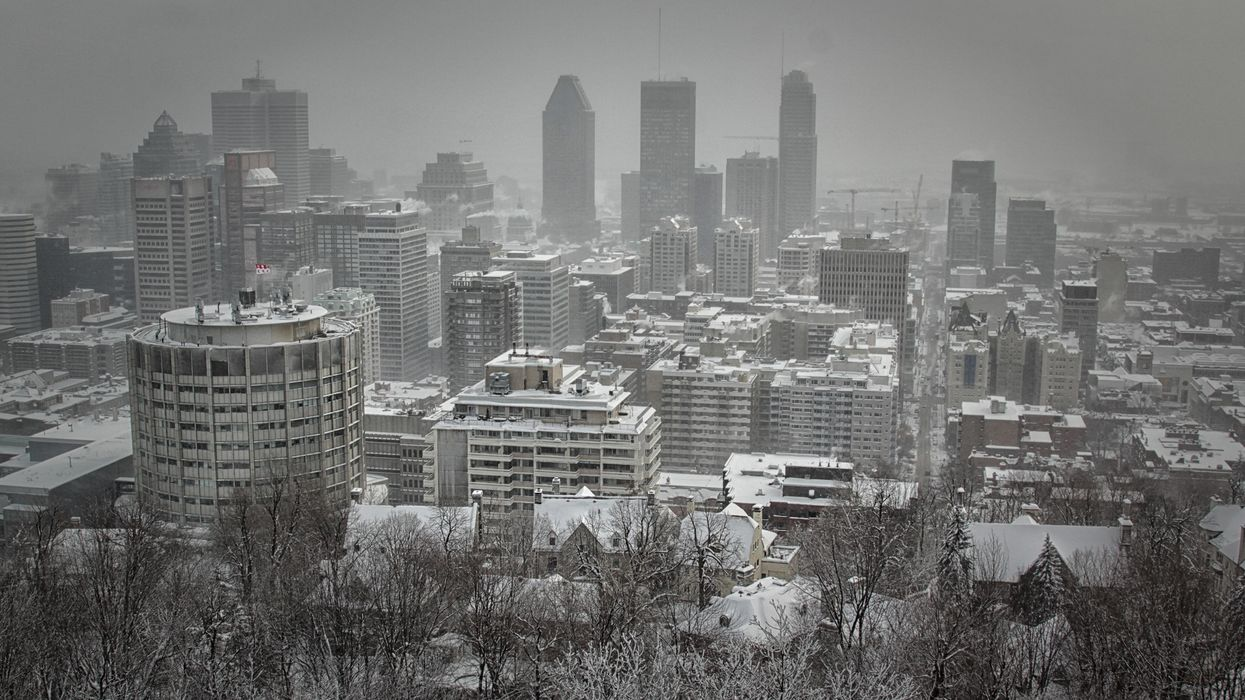 Montreal Has Been Under A Smog Warning For 4 Days In A Row