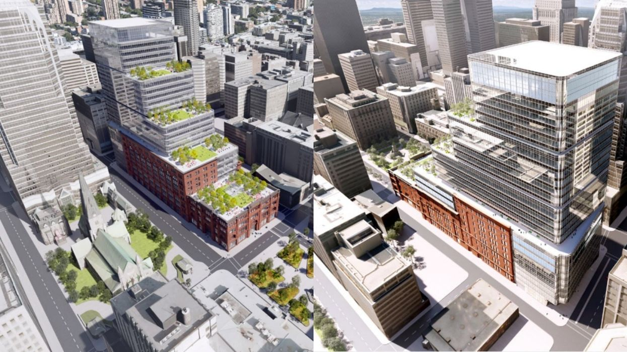Montreal Hudson's Bay Building Might Get A New Tower (PHOTOS)