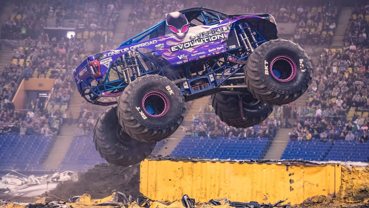 Montreal Is Hosting A Monster Truck 'Spectacular' With 10,000-Pound Trucks Doing Tricks