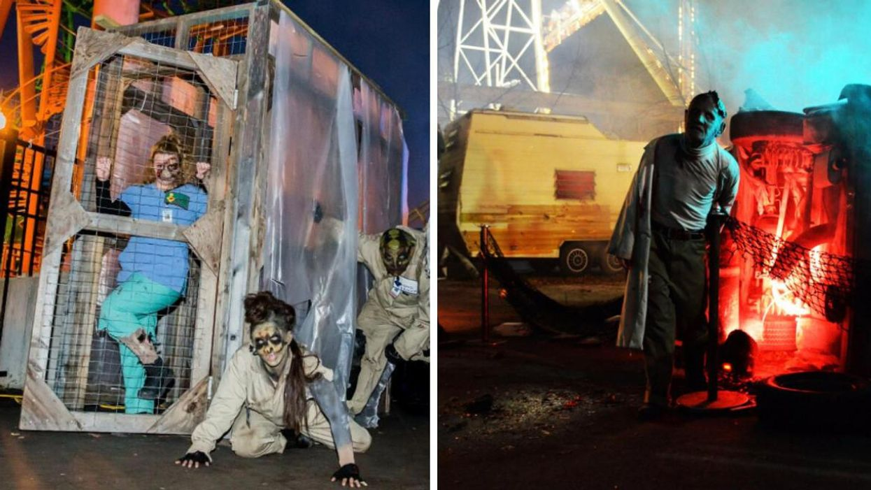 Montreal La Ronde's Halloween Festival Is Coming & Zombies Will Be Roaming The Park