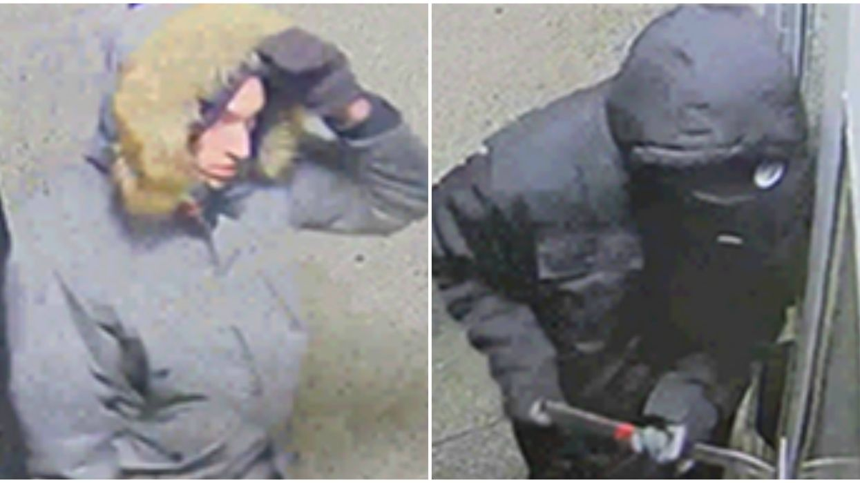 Montreal Police Are Looking For 2 Men Caught On Camera Breaking Into Local Schools