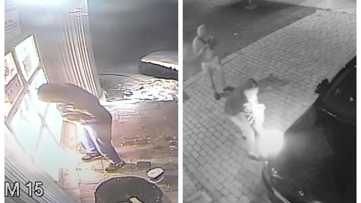 Montreal Police Have Shared Video Of Arson Attacks On The Island