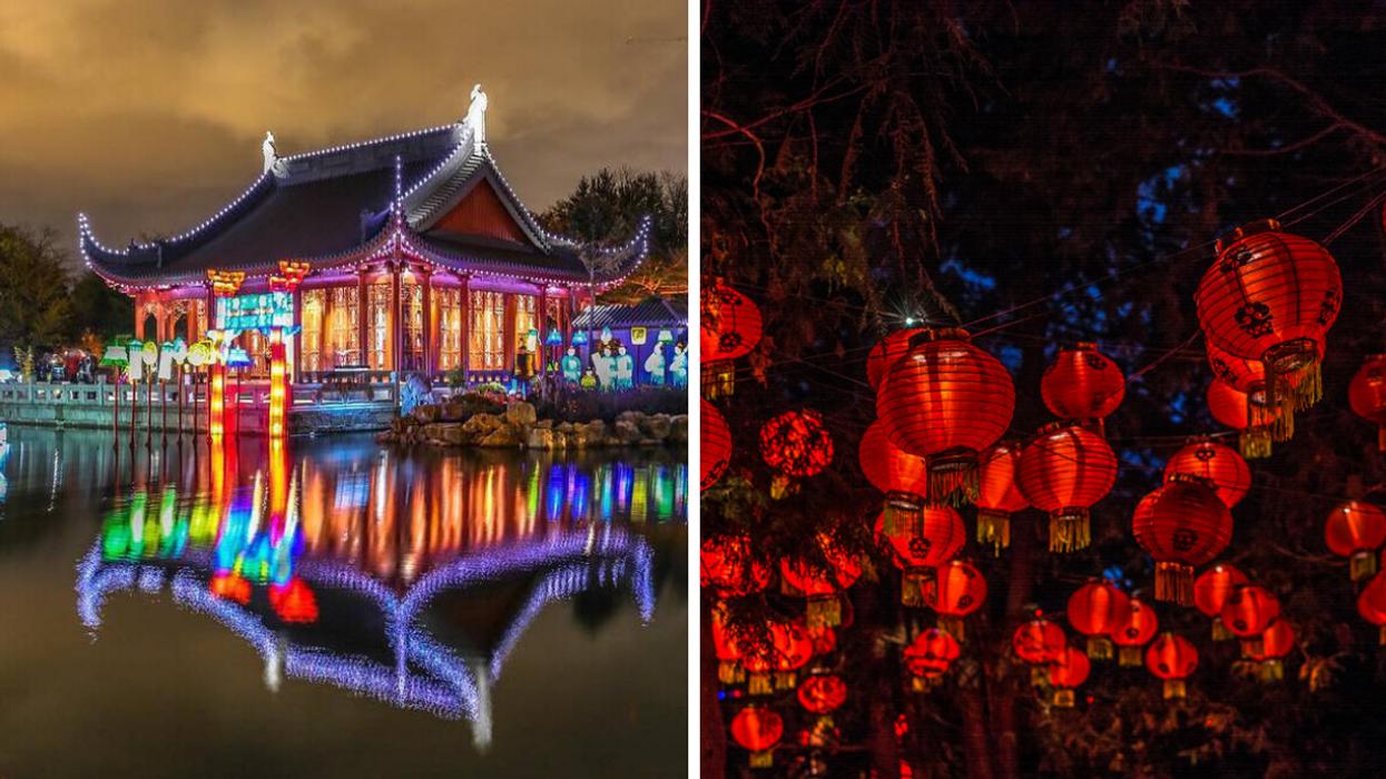 Montreal's 2021 Lantern Festival Will Light Up The Botanical Garden