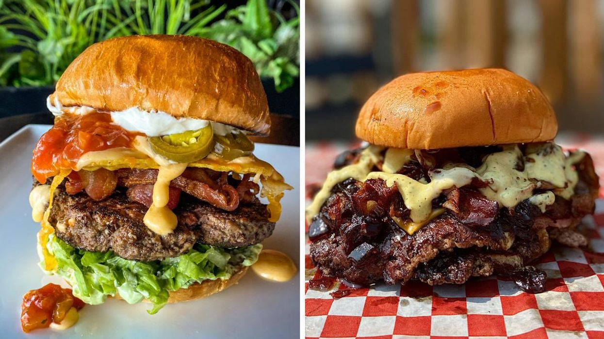 Montreal's Burger Week 2021 Winners Have Been Announced & They're Just Enormous Meat Piles