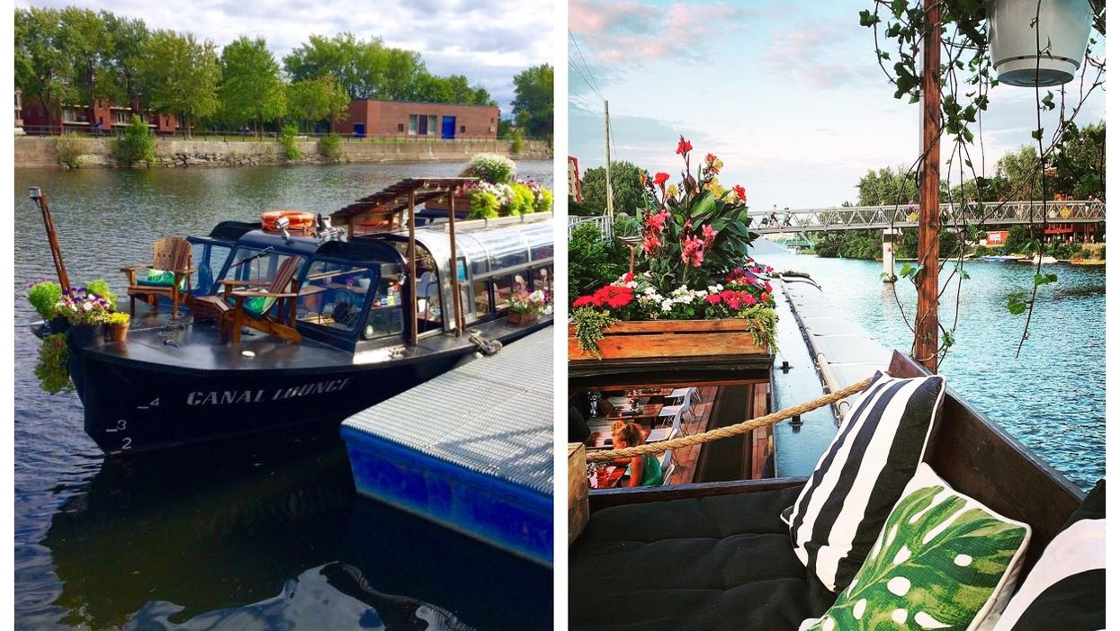 Montreal's Floating Bar Is Reopening This Month (PHOTOS)