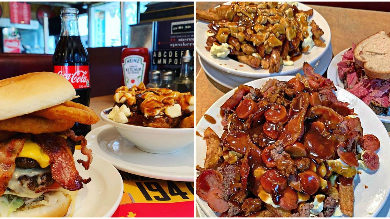 Montreal's Greenspot Restaurant Now Delivers & A Poutine Mountain Is Waiting For You