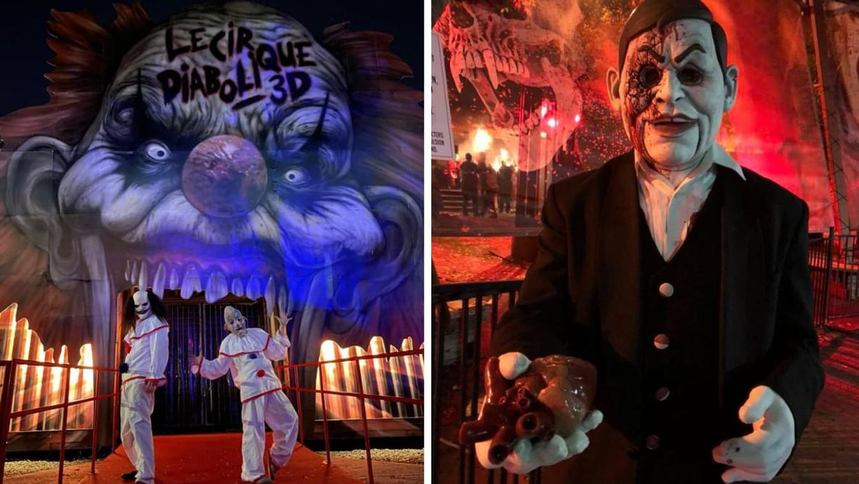 Montreal's La Ronde Is Hosting 18+ 'Haunted Nights' This Month