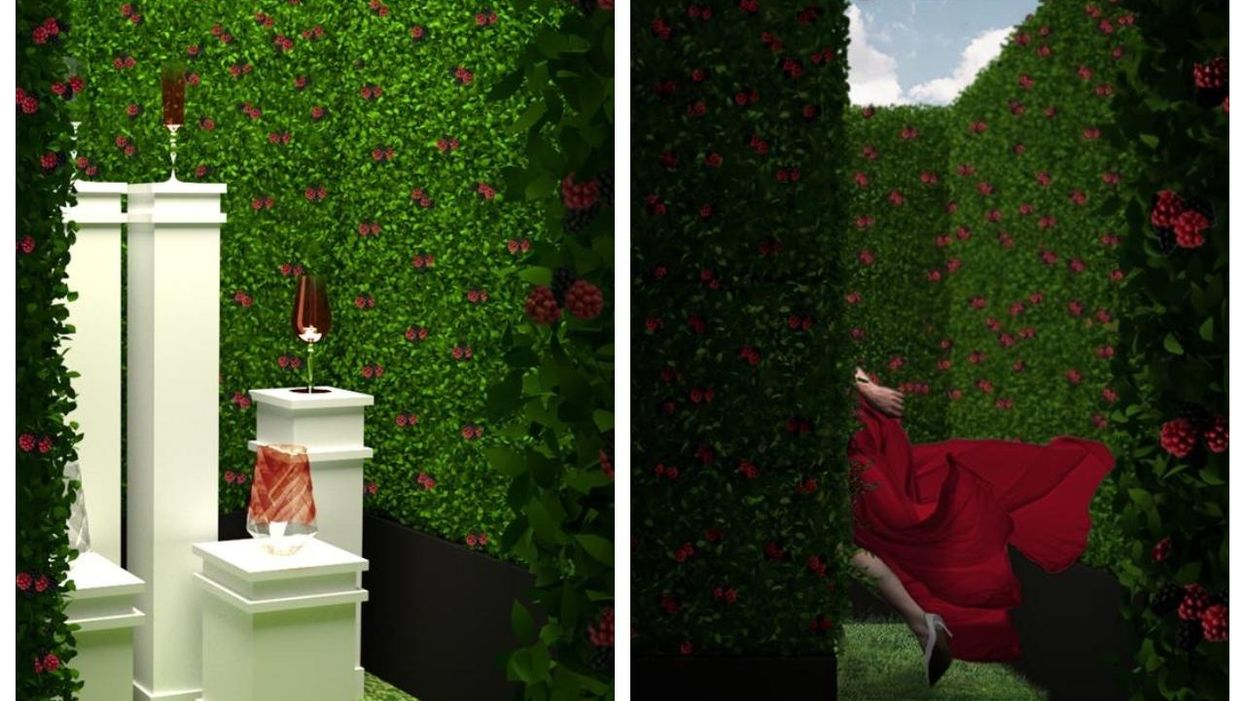 Montreal's Old Port Is Getting A Hedge Maze With Free Gin
