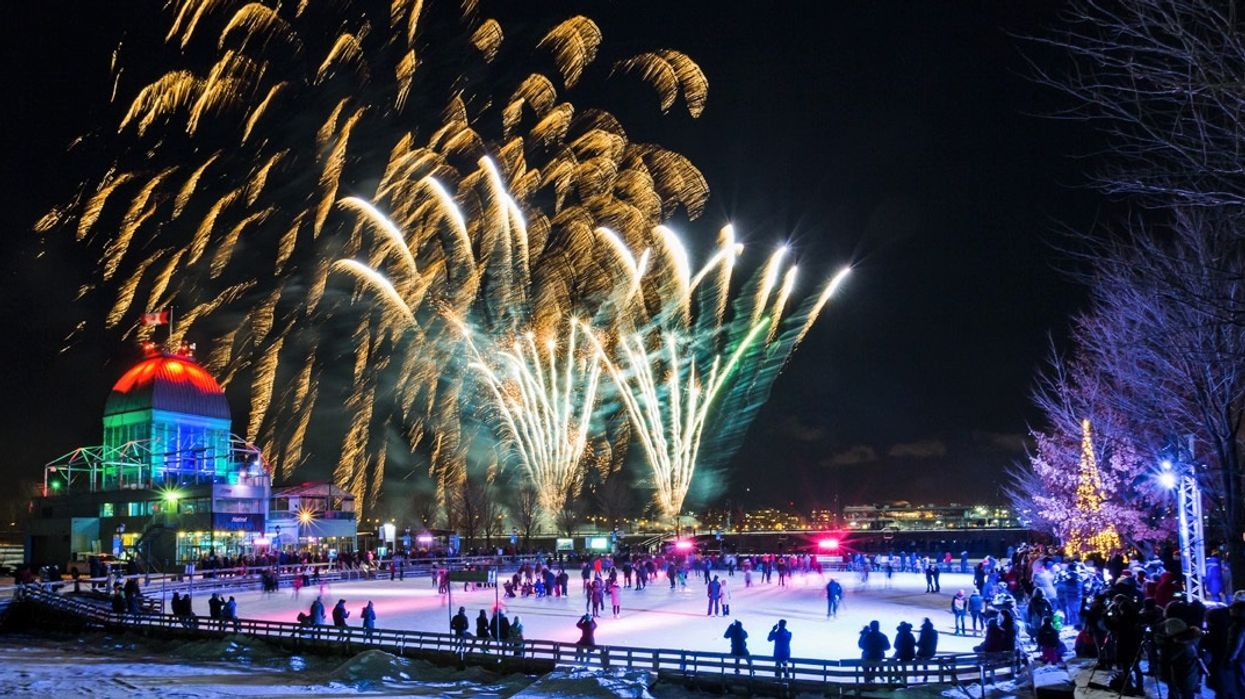 Montreal's Old Port Skating Rink Is Opening This Weekend