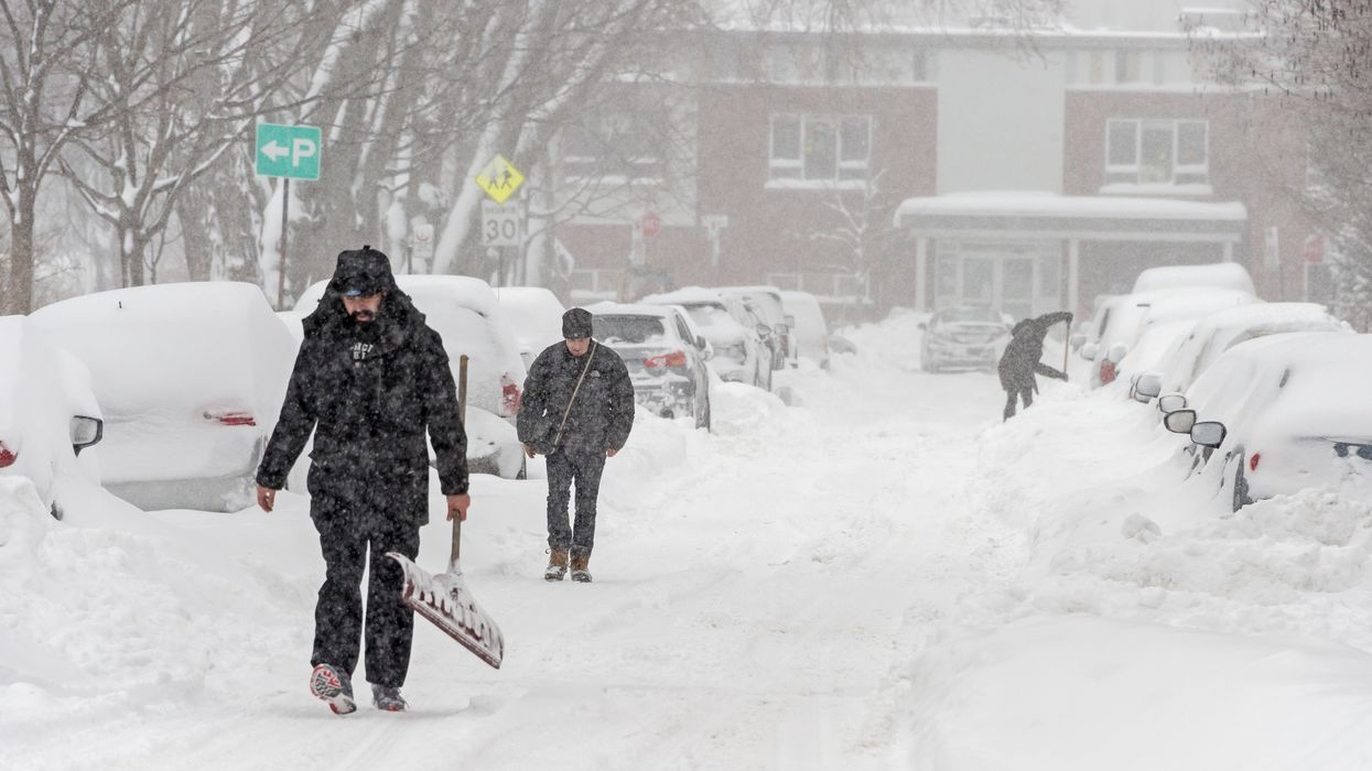 Montreal Weather Forecasts Shows Up To 25cm Of Snow Coming Before New Year's Day