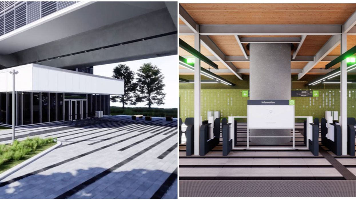 Montrealers Can Finally See What The Inside Of A REM Station Will Look Like (VIDEO)