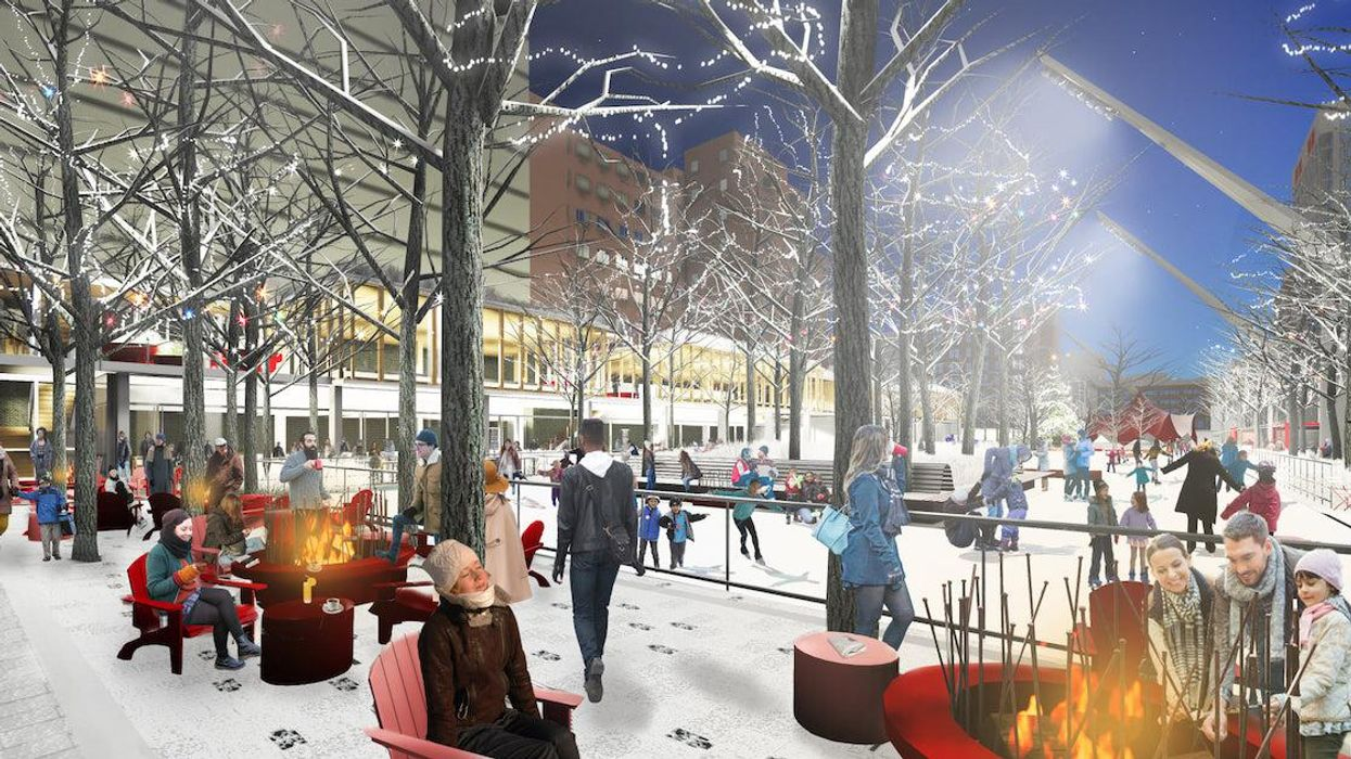 New Montreal Ice Skating Rink Coming To Esplanade Tranquille