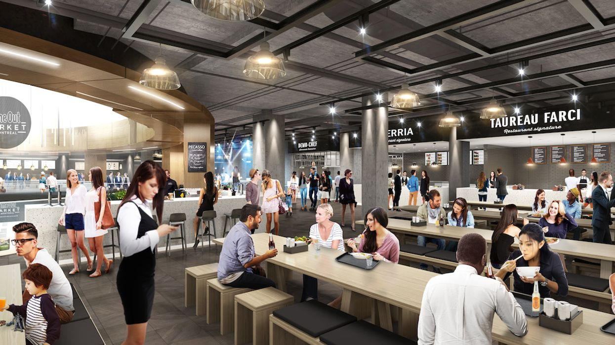 New Time Out Market Montreal Food Hall Has Unveiled A New List Of Restaurants