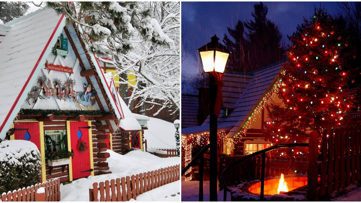 North Pole NY Is A Real-Life Christmas Village & It's Only 2 Hrs From Montreal