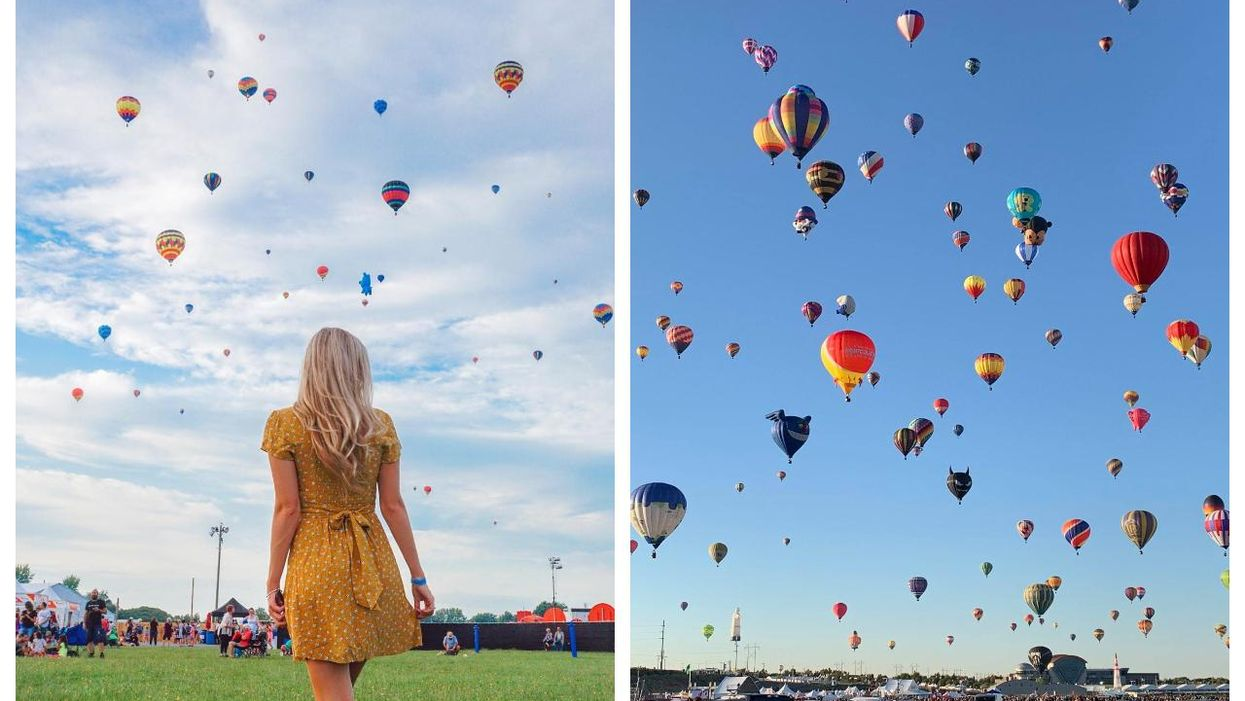 Quebec's Hot Air Balloon Festival Near Montreal Is Back In August 2021