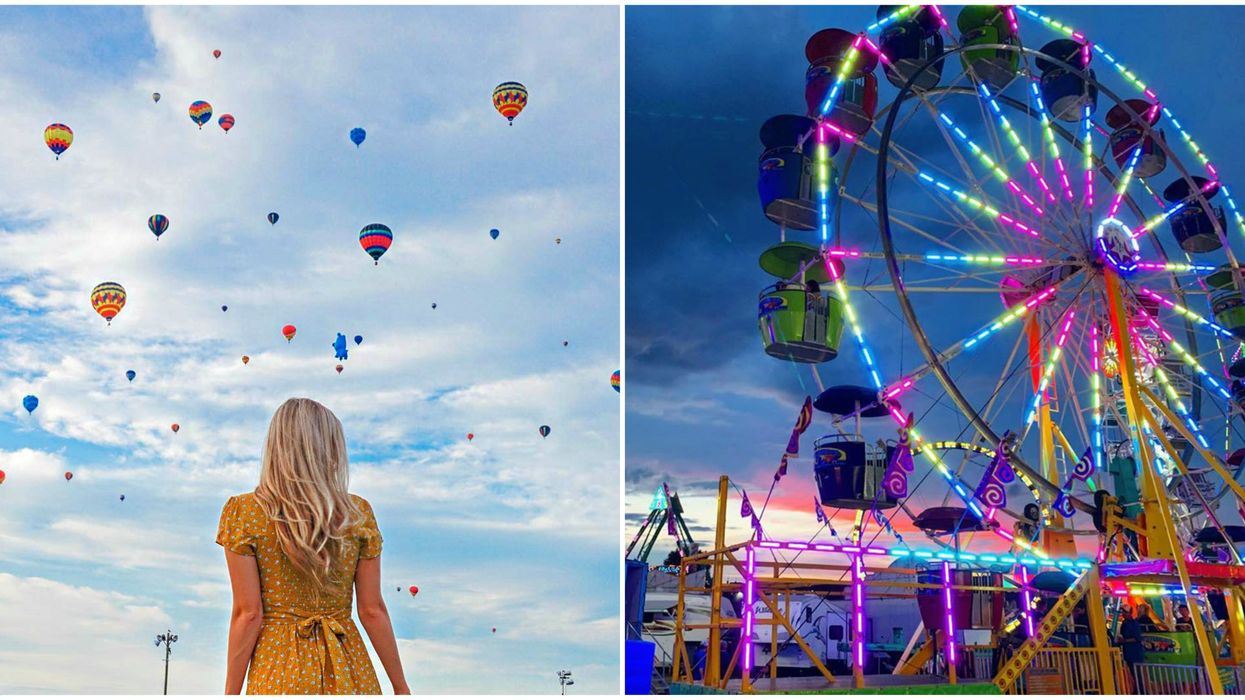 Quebec's International Balloon Festival Is This Year With Nearly 100 Balloons