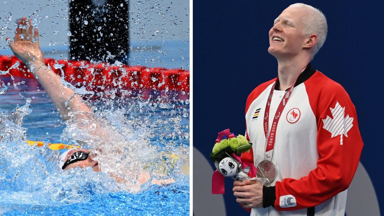 Quebec Swimmer At Paralympic Games Wins Silver