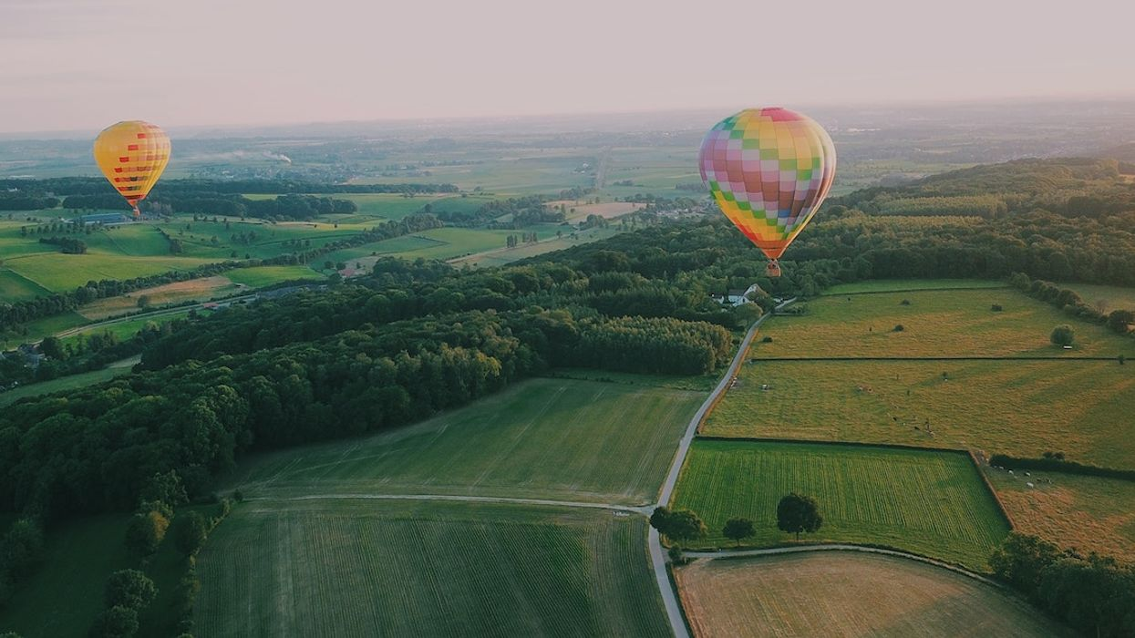 See The Quebec Fall Foliage From The Sky In These Hot Air Balloon Tours Near Montreal