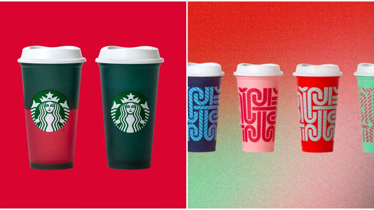 Starbucks Is Launching Reusable, Colour-Changing Holiday Mugs In Quebec For Under $5